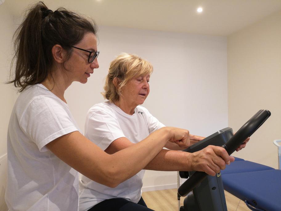 fisio start riabilitazione paziente
